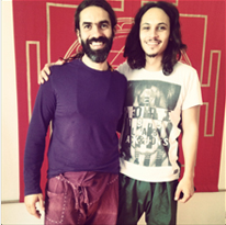 Krishnatakis und Sascha Jurak