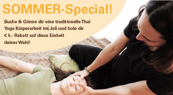 Sommer Special Thai Yoga